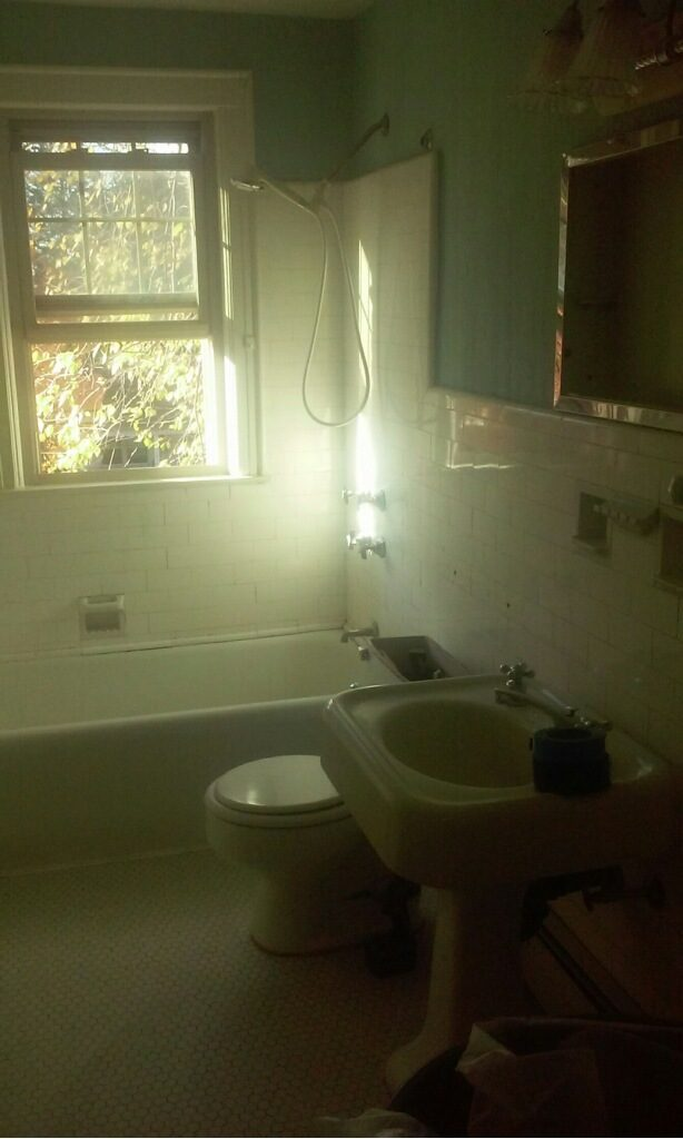 Bathtroom Upgrade Before 2
